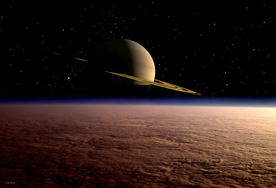 El misterio de las olas perdidas en Titán