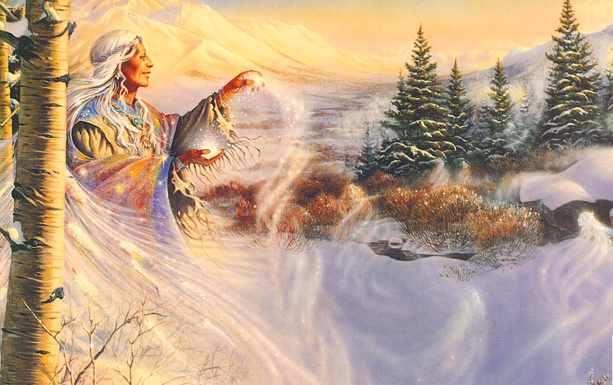 IMAGES TO NOURISH THE SPIRIT AND TOUCH THE HEART - Page 13 SnowMagic