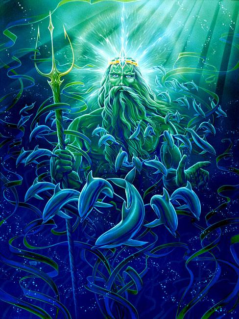 Neptune, Poseidon, Love