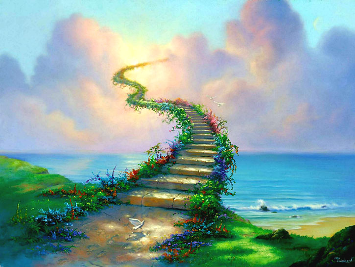 Stairway to Heaven by Jim Warren                             www.jimwarren.com